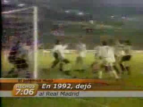 Sembalnza de la carrera de Hugo Sánchez