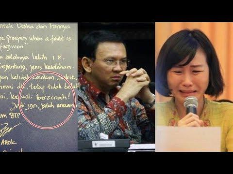 Download Video Bikin MERINDING..Isi Lengkap Surat Cerai Ahok, Beberkan Kelakukan Veronica Tan Dari 2010,
