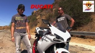 10. DUCATI 848 EVO Review, done by the Motorcycle Riders in the real world.