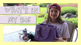What's In My Bag | Andrea B.