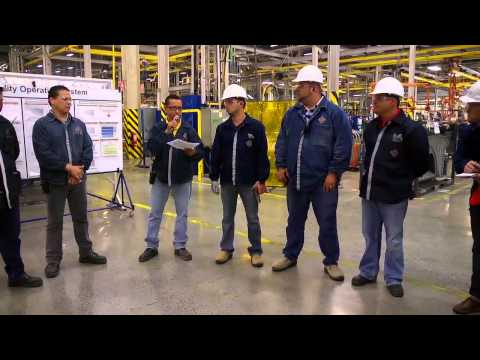 Point of Application –  International Truck Manufacturing Plant in Escobedo, Mexico