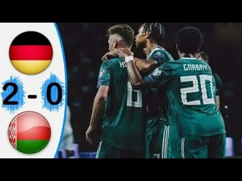 Belarus vs Germany 0-2 Extended Highlights & All Goals 08-06-2019