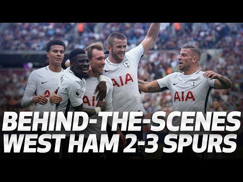 Video: BEHIND-THE-SCENES   West Ham 2-3 Spurs