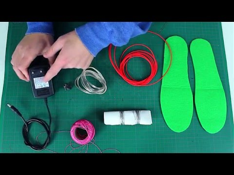 How to make DIY heated insoles