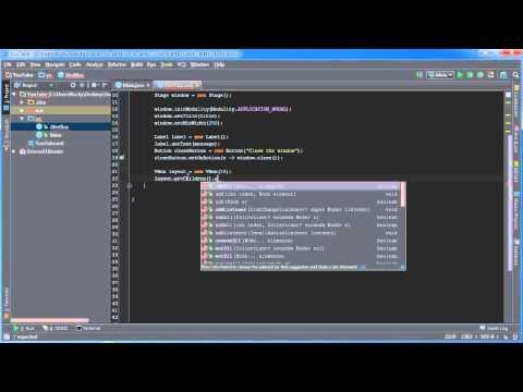 JavaFX Java GUI Tutorial – 5 – Creating Alert Boxes
