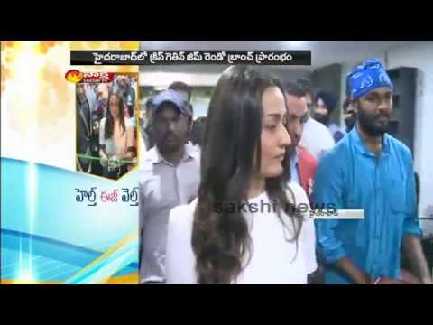 Namrata started a Fitness Centers in Hyderabad