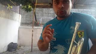 Cristian nodal No te contaron mal - tutorial trompeta