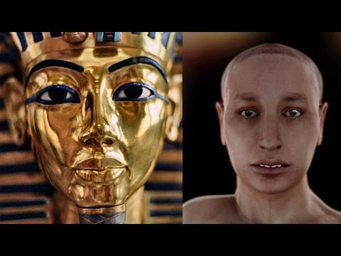 virtual - The mystery of King Tut has just become far less mysterious, using state of the art new virtual autopsy technology, scientists have released the restored face of the long dead Pharaoh. -----------...