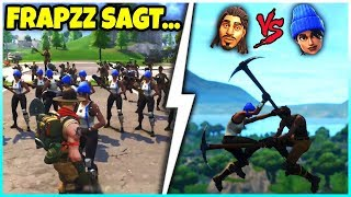 Video 😂 FRAPZZ SAGT... | Blaumützen VS. No Skins! - Fortnite Battle Royale MP3, 3GP, MP4, WEBM, AVI, FLV Juli 2018