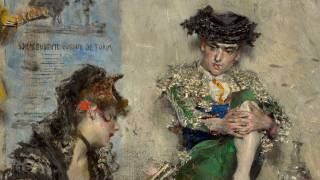 Guitar Player Giovanni Boldini Italian, 1873 oil on canvas frame: 2 x 20 5/8 x 17 15/16 in. (5.1 x 52.4 x 45.6 cm) Overall: 16 1/4 x...
