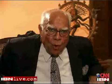 ibnlive - Ram Jethmalani slams shameless IBNLive as 
