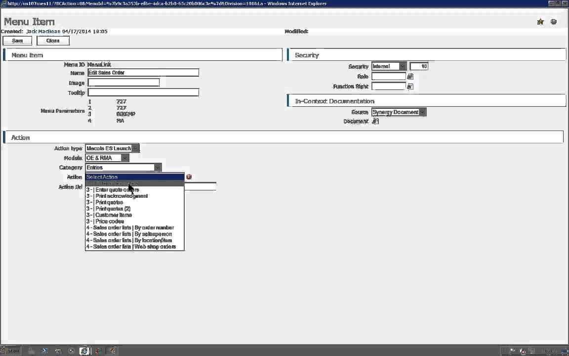 Configurable Workspaces