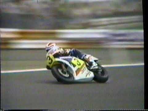 1984 Honda Motorcycle TV Commercial with Freddy Spencer's race bike