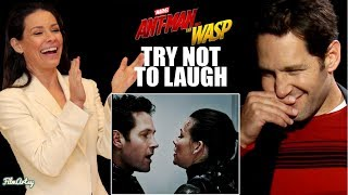 Video Ant-Man and The Wasp Bloopers and Funny Moments | Try Not To Laugh 2018 MP3, 3GP, MP4, WEBM, AVI, FLV Juli 2018