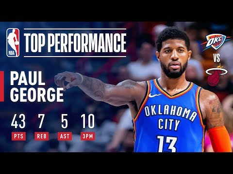 Video: Paul George Knocks Down Franchise-Record 10 Threes | February 1, 2019