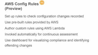 AWS November 2015 Webinar Series - Essentials: Introducing Config Rules