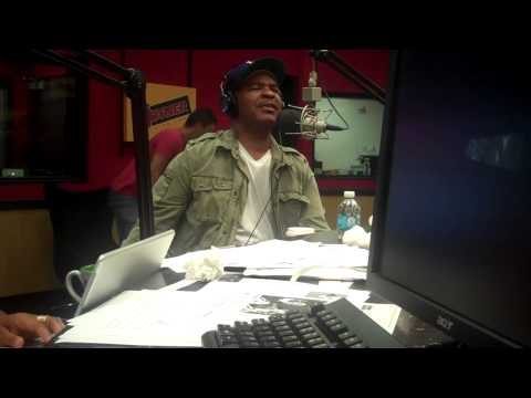 Comedian David Alan Grier interviews on the Tom Joyner Morning Show