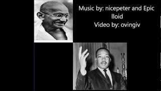 Martin Luther King Jr. vs Gandhi ERB S2 #14 Lyrics