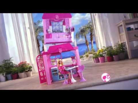Гламурный кабриолет Barbie