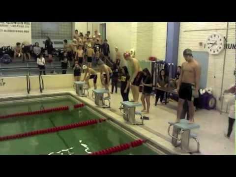 Swim Team Stuyvesant vs Bronx Science