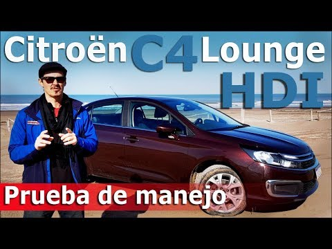 Test drive Citroën C4 Lounge HDi