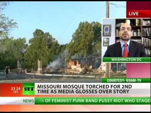 Missouri mosque burned to the ground