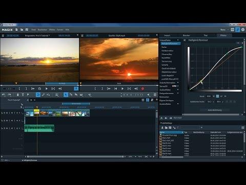 MAGIX Video Pro X – Einführungsvideo Tutorial (DE)
