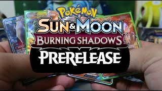 Pokemon TCG Burning Shadow Prerelease and Recap also Hints and Tricks to help you by Papa Blastoise