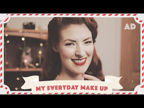 My Everyday Vintage Make-Up Routine // Ad // Vlogmas 2019 Day 6