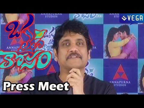 Oka Laila Kosam Movie - Press Meet - Naga Chaitanya, Pooja Hedge - Latest Telugu Movie 2014