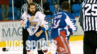 Drop The Gloves: Canada's Toughest Hockey League by VICE Sports
