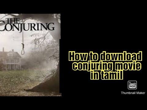 How to download the conjuring movie in tamil