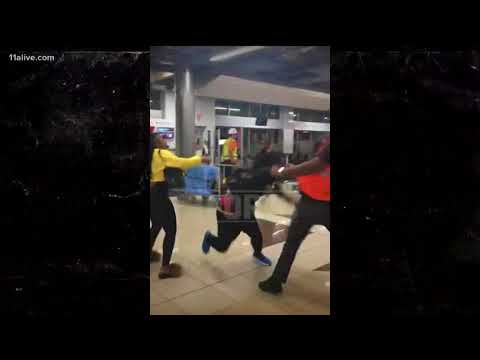 Adam 'Pacman' Jones gets into fight with Atlanta airport employee