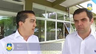 Visita do Secretário Estadual de Saúde Carlos Coimbra