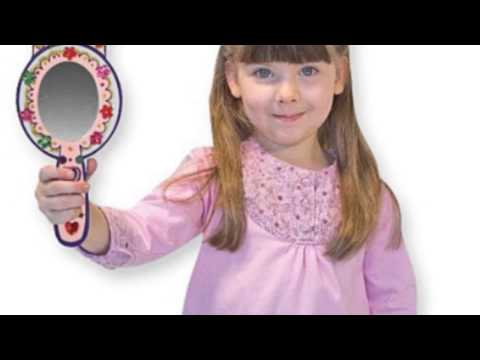 Video New YouTube Video of the Melissa And Doug Wooden Princess Mirror