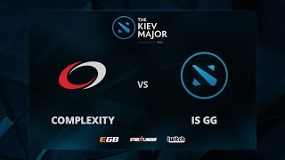 compLexity vs IS GG, The Kiev Major NA Main Qualifiers