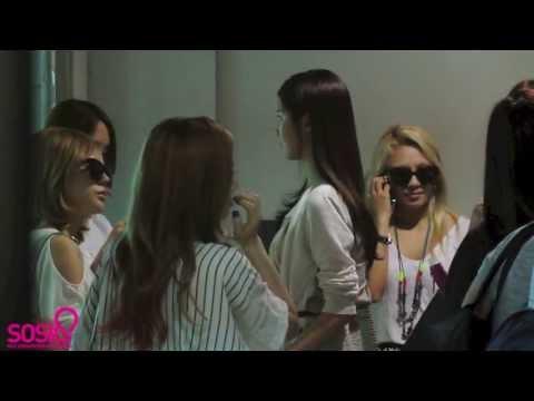 [Sosius Fancam] 130719 SNSD Taoyuan Airport Arrival (видео)