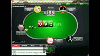 POKER LAG Auf POKERSTARS SNG 1,5$ (Pokerschule Deutsch Kommentiert) Teil 4