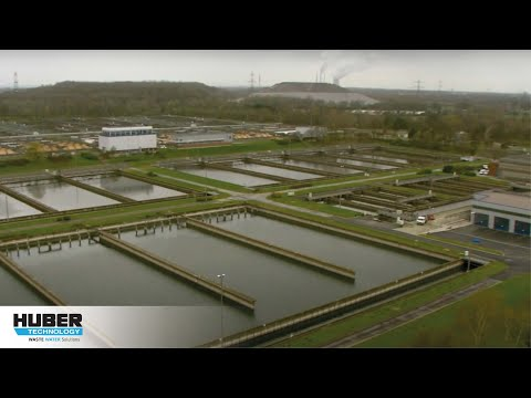 "Video: HUBER Grit Treatment System RoSF 5 at major WWTP ""Emschermündung"""