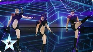Sound the alarm! It's Yanis Marshall, Arnaud and Mehdi | Britain's Got Talent 2014 Final Video
