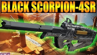 Destiny 2 | Black Scorpion-4SR Veist Scout Rifle PvP Gameplay Review