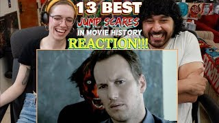 13 BEST JUMP SCARES In Movie History - REACTION!!! by The Reel Rejects