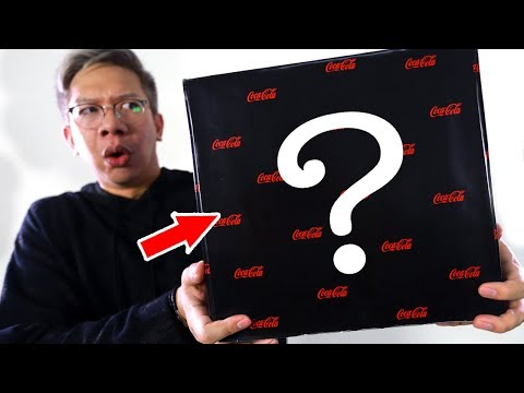 UNBOXING MYSTERY COLA BOX!!!