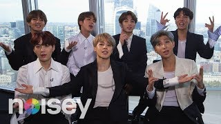 Video BTS on Having No Friends, Drake and Pokémon - The Noisey Questionnaire of Life MP3, 3GP, MP4, WEBM, AVI, FLV Agustus 2019