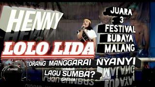 Video Lolo lida - Suara Emas Dari Manggarai nyanyi lagu daerah Sumba - Juara 3 Festival IBU MP3, 3GP, MP4, WEBM, AVI, FLV Februari 2019