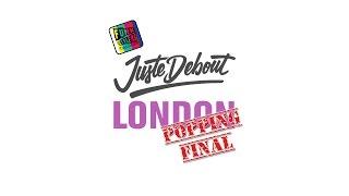 Ramelle & Harry Popper v Brooke & Dickson | Popping Final | Juste Debout 2016 | London | FSTV
