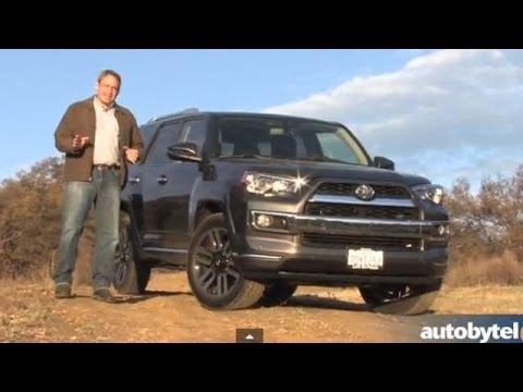 2014 Toyota 4Runner Limited Test Drive Video Review