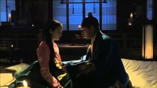 Jang ok Jung romantic scene