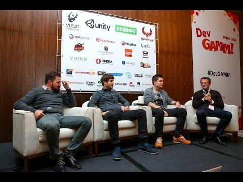 Круглый стол: Актуальные вопросы игровой индустрии (DevGAMM Minsk 2014)