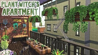 Plant Witch's Dream Apartment 🌱    Sims 4 Apartment Renovation: Speed Build